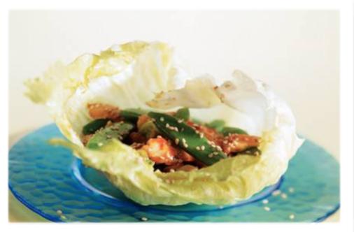 Lettucechickenwraps